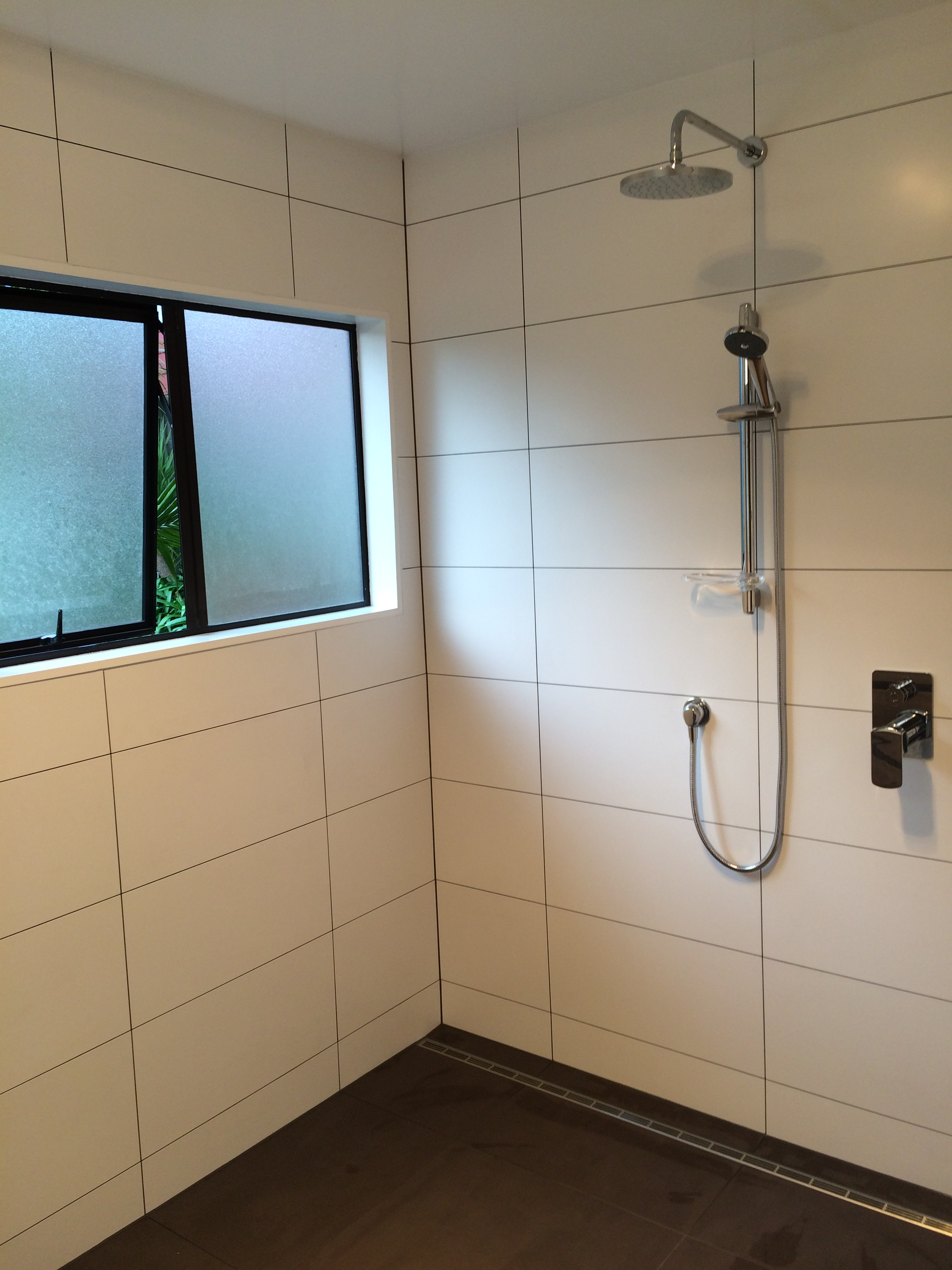 Wet area bathroom in Birkenhead development photo